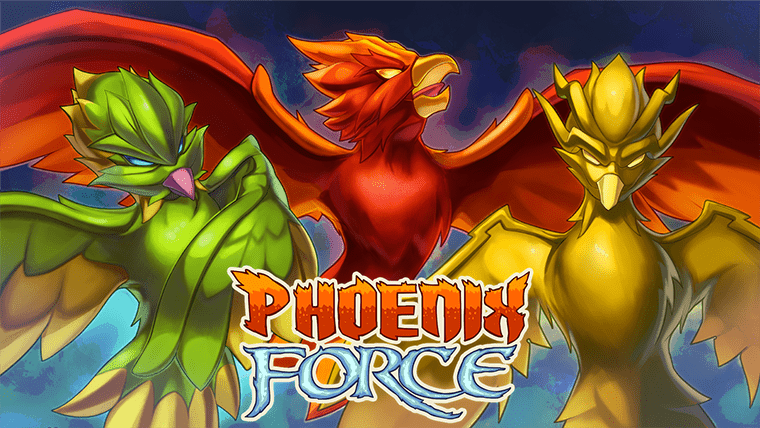 Phoenix Force Video Game Banner