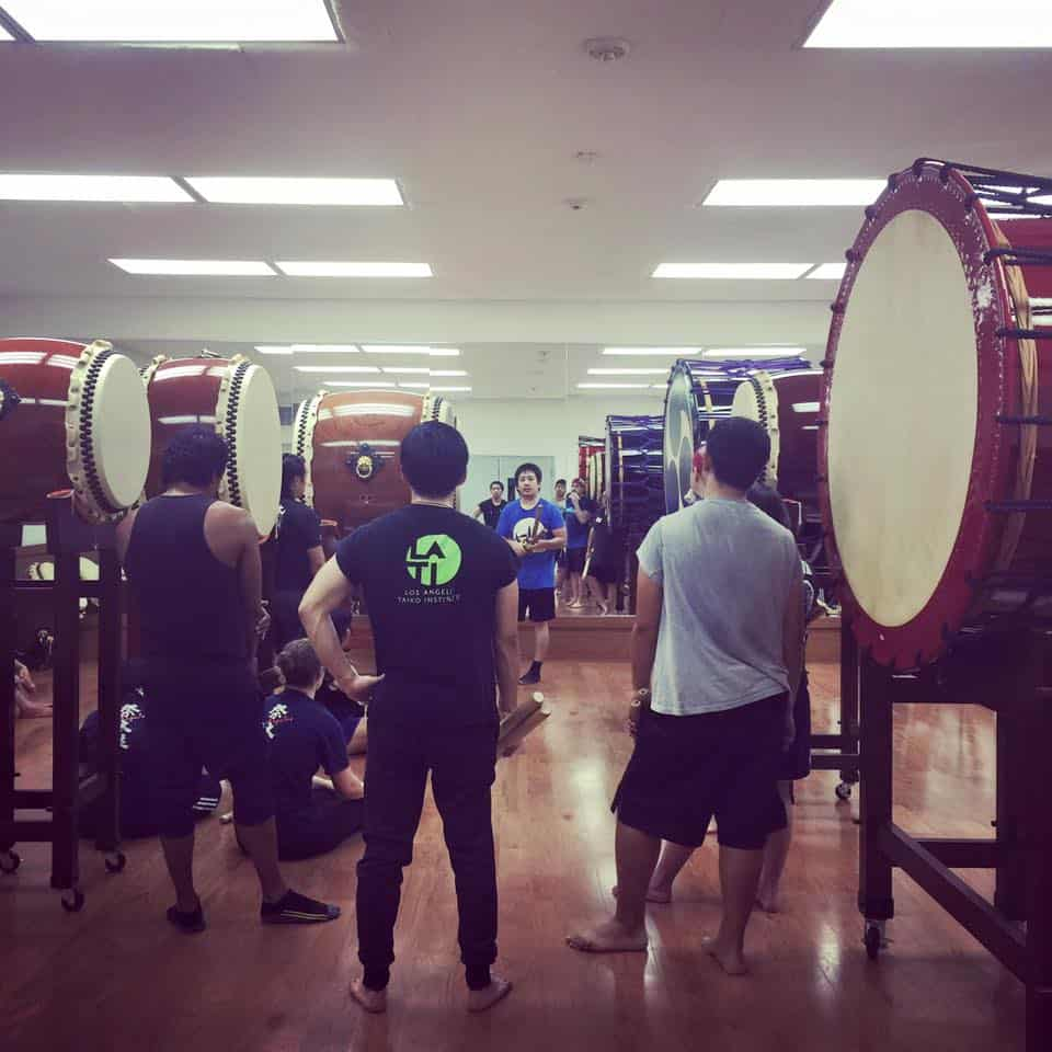 Odaiko Workshop Asano Taiko US Los Angeles