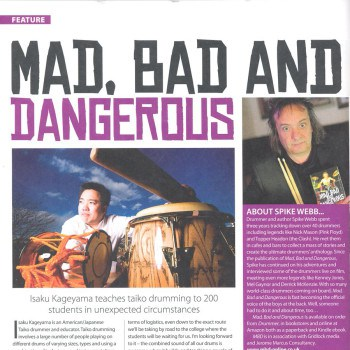 Drummer Magazine May 2016