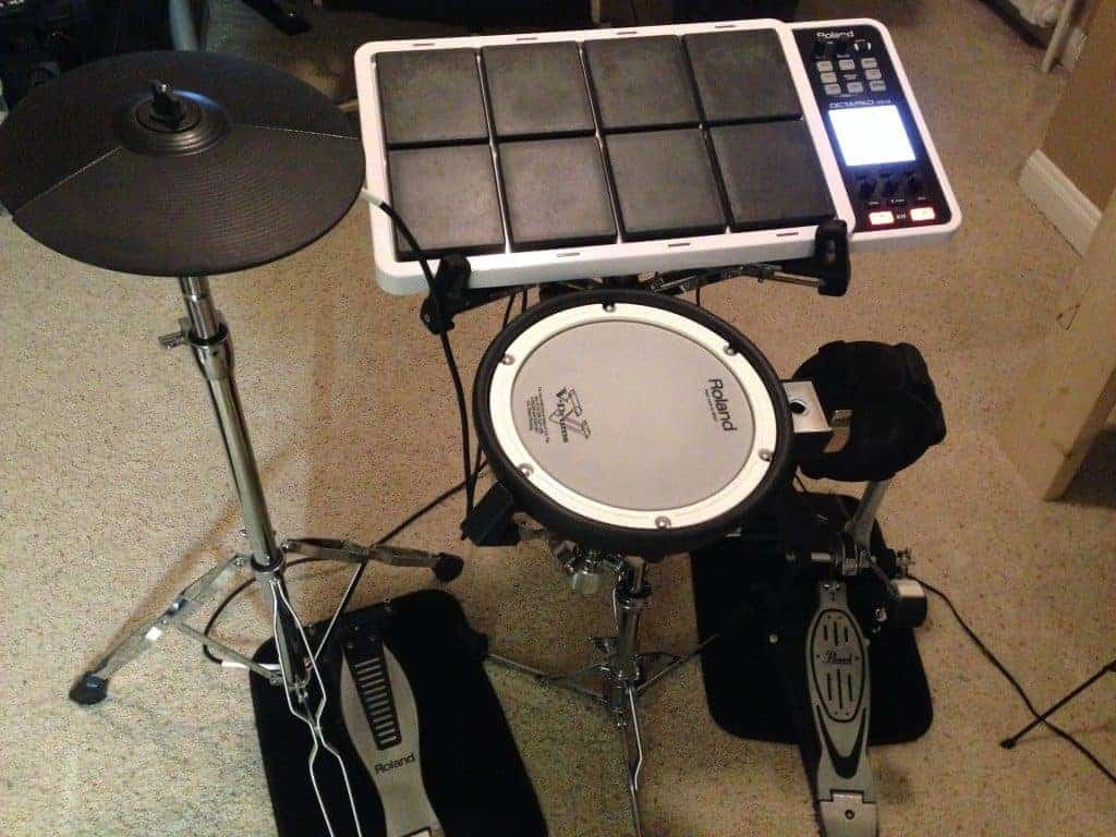 roland spd 30 octapad review and compact drum kit build. Black Bedroom Furniture Sets. Home Design Ideas